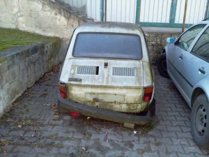 kasacja auta goleniów